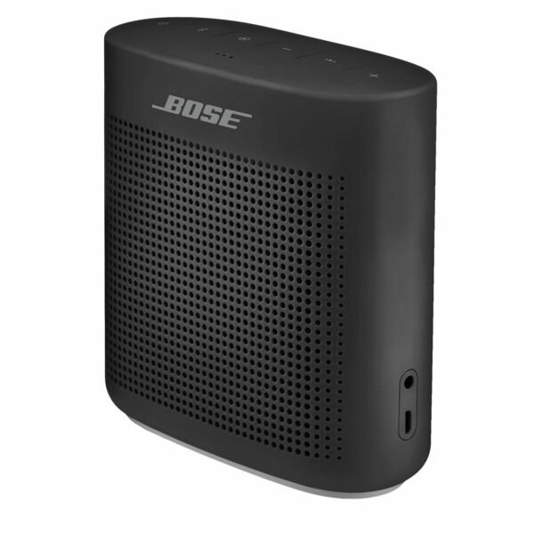 Bose Soundlink Color 2 Soft Black Portable Speaker Ebay