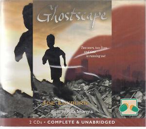 Joe-Layburn-Ghostscape-2CD-Audio-Book-Unabridged-Multiculturalism-FASTPOST