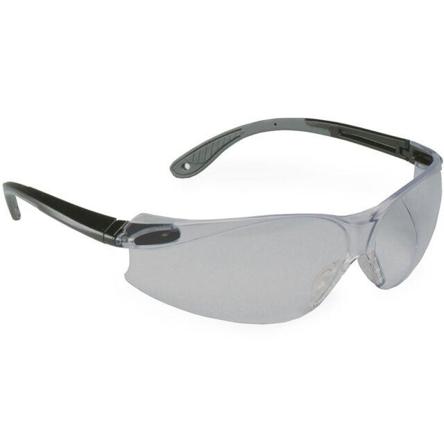3M Virtua V4 Black Frame w// Gray Overmold Gray Hardcoat Lens Protective Eyewear