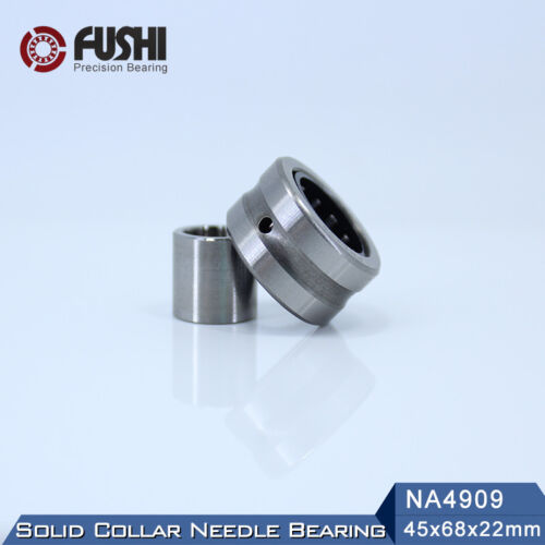 Solid Collar Needle Roller With Inner Ring NA4909 Bearing 45*68*22 mm 1 PC