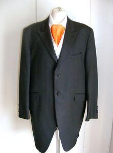 Wilvorst-slate-grey-pinstripe-frockcoat-Prince-Edward-wedding-wear-steampunk-44L