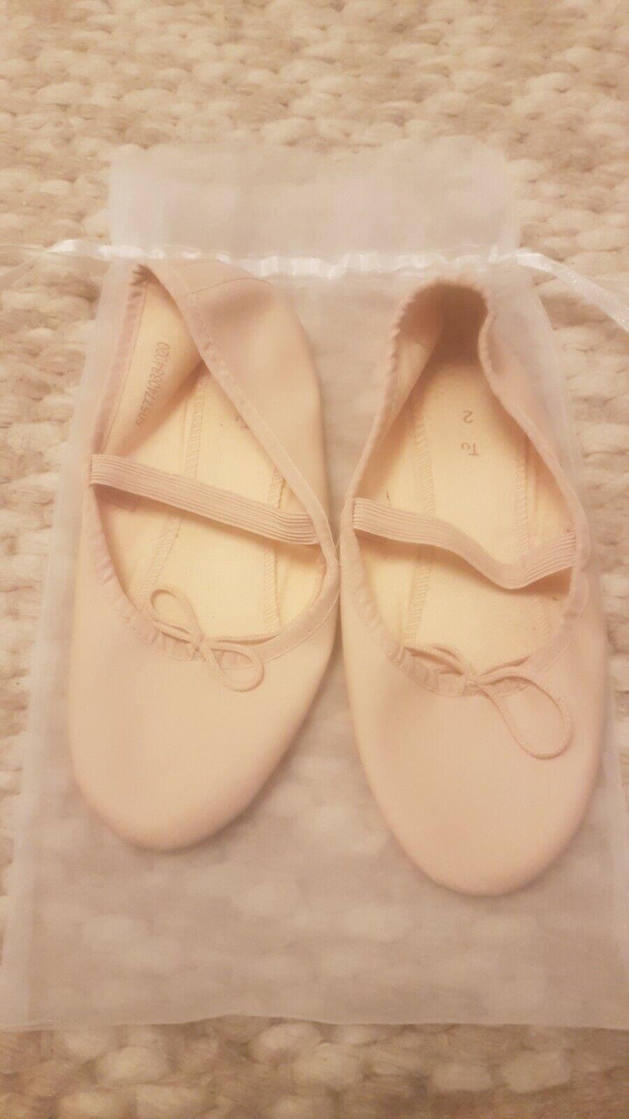 Excellent condition TU ballet shoes - size 2