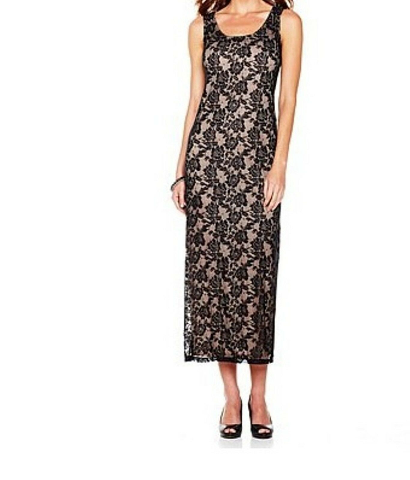 Woherren Summer Cruise Vacation Cocktail  party Church Lace long Dress plus 1X