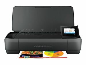 hp officejet 250 all in one mobile printer ebay