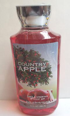 Bath & Body Works Country Apple Shower Gel Shea & Vitamin E  8 FL oz
