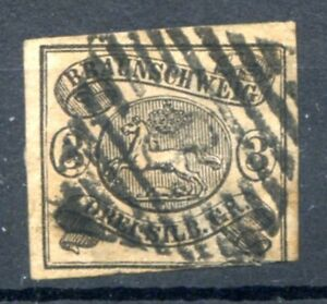 GERMANY-BRUNSWICK-Yvert-9-Used-VF