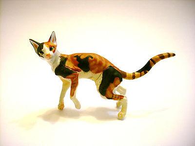 RARE Kaiyodo Takara Choco Q Pet Animal 5 Oriental Shorthair Cat Figure B