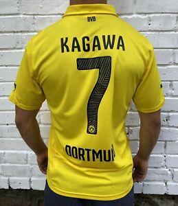 Fc Borussia Dortmund 20142015 Cup Home Football Jersey Trikot Shirt 7 Kagawa Ebay