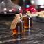 thumbnail 9 - Set of 12 Mini Glass Bottles Perfect for Wedding Favours & Decoration M&W