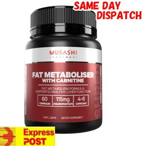 MUSASHI-FAT-MOBILISER-L-CARNITINE-60-CAPSULES-METABOLISER-FAT-BURNER-MEGA-WITH
