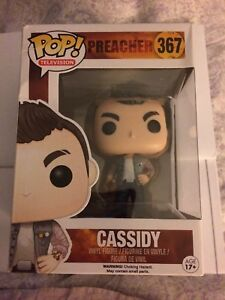 a786ed27cb2 Image is loading Funko-Pop-Television-PREACHER-CASSIDY-Vinyl-Figure-367-