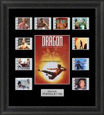 Dragon the Bruce Lee Story Framed 35mm Film Cell Memorabilia Filmcells Movie Cel
