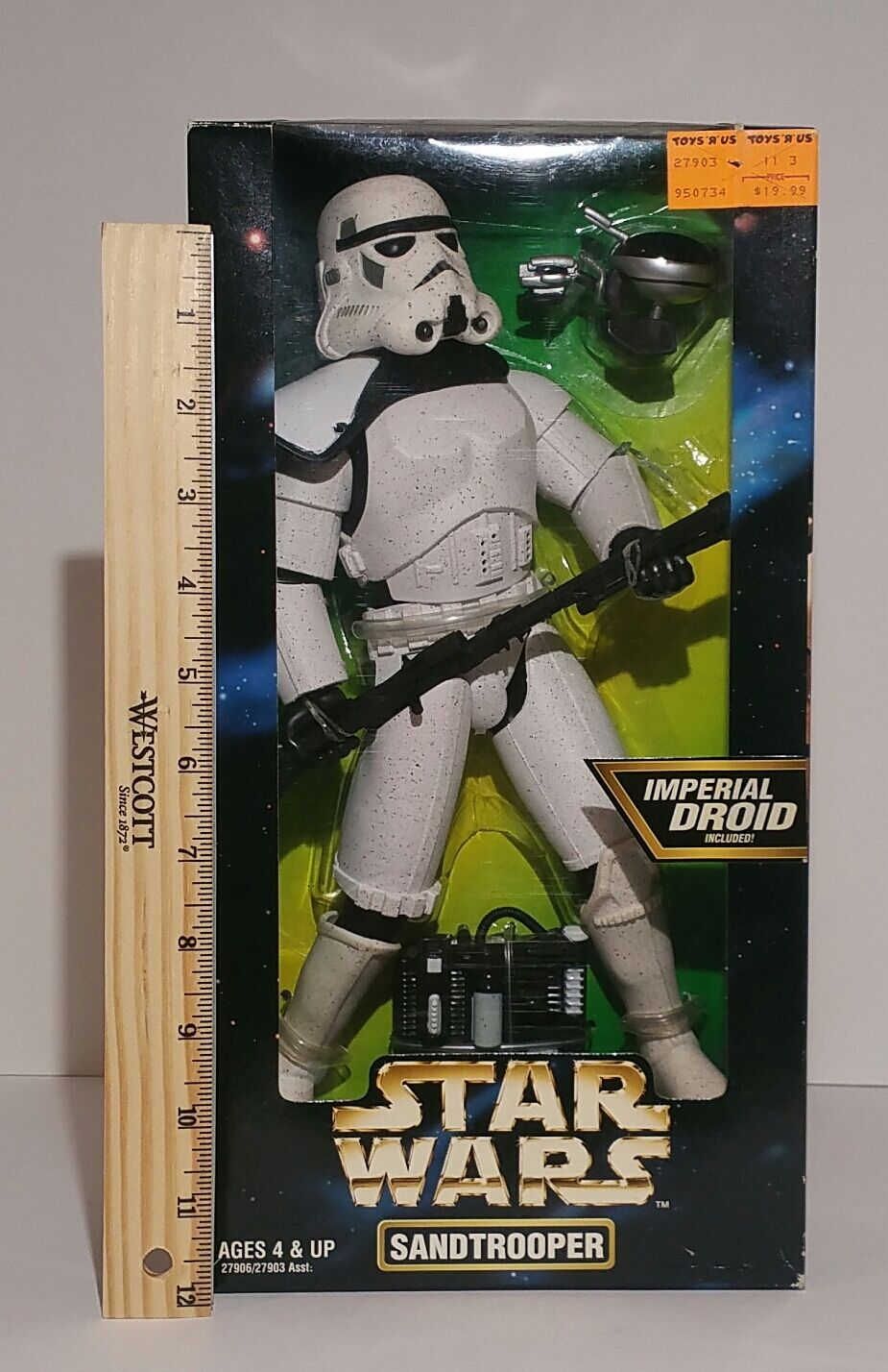 Star Wars Sandtrooper Action Collection   1 6 figure 1997 MIB
