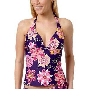 elegant im Stil attraktiv und langlebig Outlet Store Verkauf Details zu Tankini Bikinioberteil S 38 Bikini Oberteile Tank Top Bademode  Damen Flower