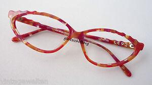 Occhiali M donna Fancy New Cheeky Frame da Colored Cateye Size Red Occhiali UMLGpzqSV