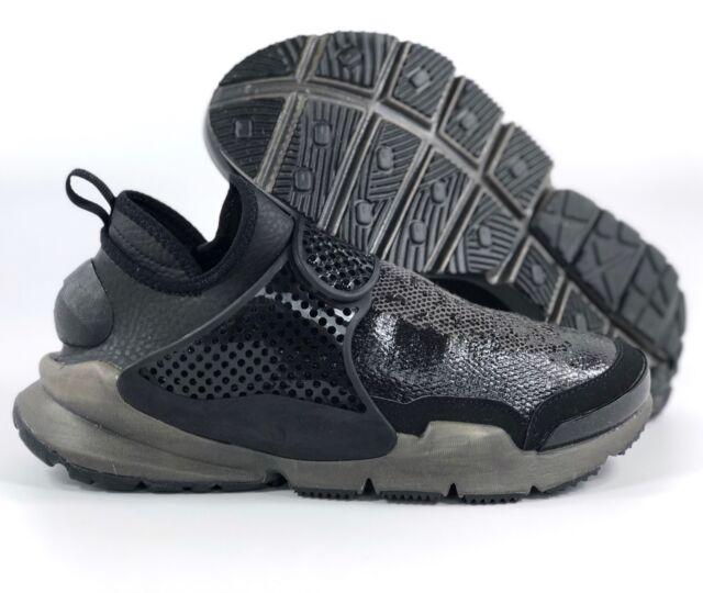 3aa6ce9d7bd70 Nike NikeLab Sock Dart Mid SI Stone Island Black Sail White 910090-001 Men s  8