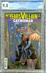 Catwoman-17-Acetate-YOTV-Variant-Cover-CGC-9-8-DC-Comics-Finch-Cover