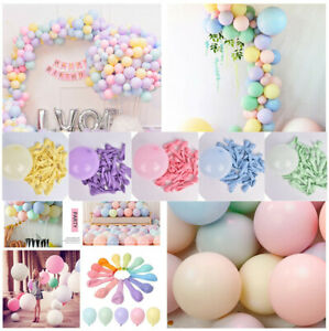 1-Pack-of-100-Macaron-Candy-Colored-Party-Decor-Pastel-Latex-Balloons-5-10-Inch