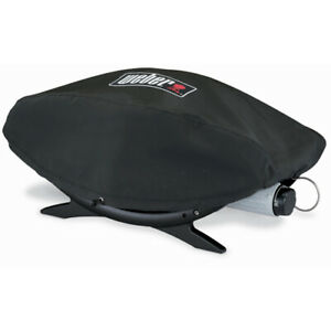WEBER-9907-BABY-Q-BARBECUE-GRILL-HEAVY-DUTY-VINYL-COVER-FITS-Q-BABY-100-120-BBQ