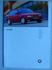 Prospekt BMW 3er E36 Coupes (316i, 318is, 320i, 323i, 328i, M3), 2.1996, 32 S.