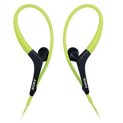 Sony MDR-AS400EX/G Active Series Headphones MDRAS400EX Green /GENUINE