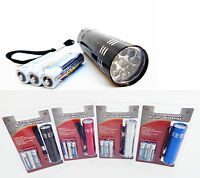 Portable Led Flashlight With Batteries Key Chain Led Light Torch