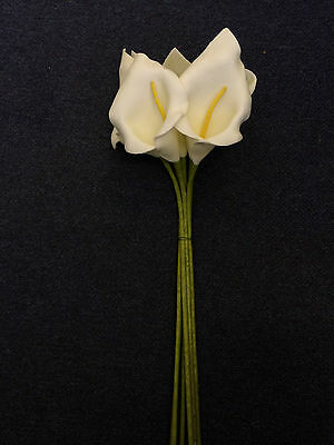 FOAM CALLA LILIES FLOWERS MULTIPLE SIZES, SHAPE & COLOUR - FREE DELIVERY