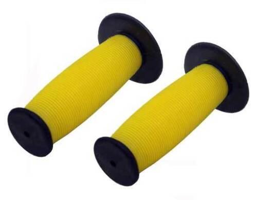 BMX OLD SCHOOL GRIPS Mushroom Grips Black//yellow GRIPS GRIP NEW  Mushroom Grip