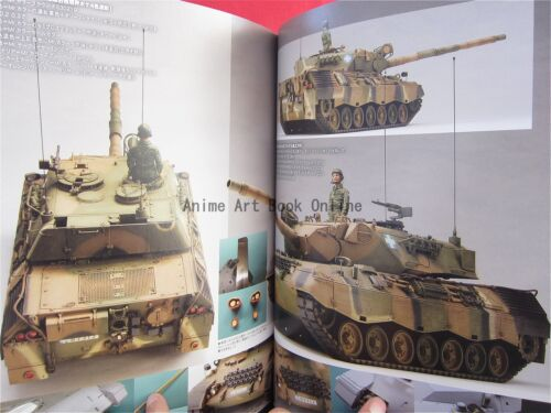 How to Build Model Kit Book Tank Model Kit Modeling Manual Meng hen