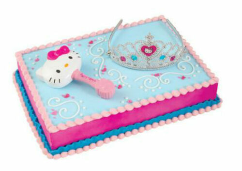 Hello Kitty Princess Tiara cake decoration Decoset cake topper set toys