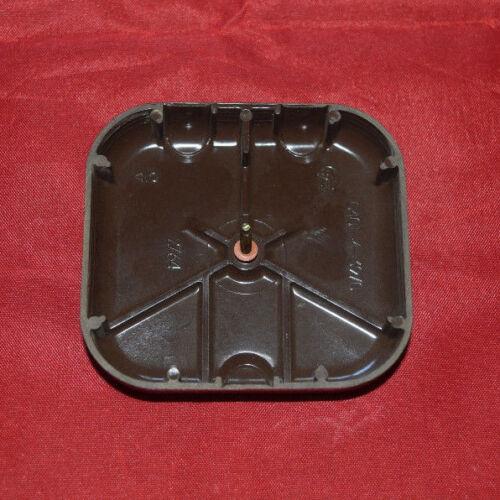 284 Busch-Jaeger 206 LX centrale vitre aveugle brun moyen