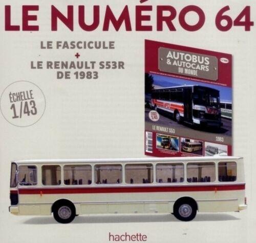 RENAULT S53 R AUTOCAR S53R FRANCE 1 43 SAVIEM IXO HACHETTE