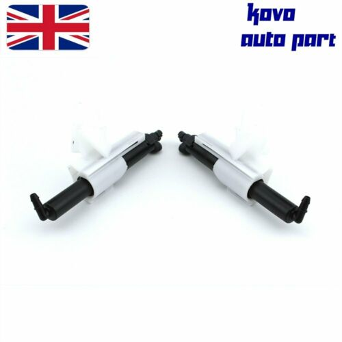 Left /& Right Headlamp Cleaning Jet Nozzle For Ford MONDEO MK4 Galaxy MK3 S-MAX