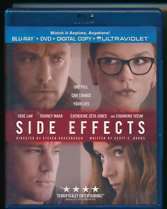 EBOND Side Effects BLU-RAY + DVD + UV Digital Copy  + ULTRAVIOLET D489010