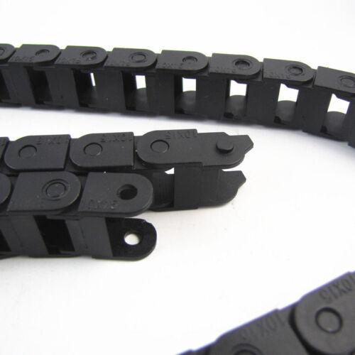 1M Schleppkette Energiekette Kabelschlepp Kabelführung Drag Chain 10x15mm RepRap