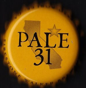 FIRESTONE - PALE 31 - CALIFORNIA PALE ALE 2015 / BOTTLE CAP / CROWN CAP - BAYERN, Deutschland - FIRESTONE - PALE 31 - CALIFORNIA PALE ALE 2015 / BOTTLE CAP / CROWN CAP - BAYERN, Deutschland