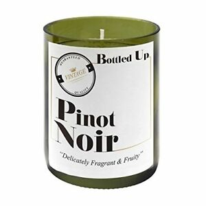 PINOT-NOIR-WINE-SCENTED-GREEN-GLASS-BOTTLE-CANDLE-50-HOURS-BURN-TIME
