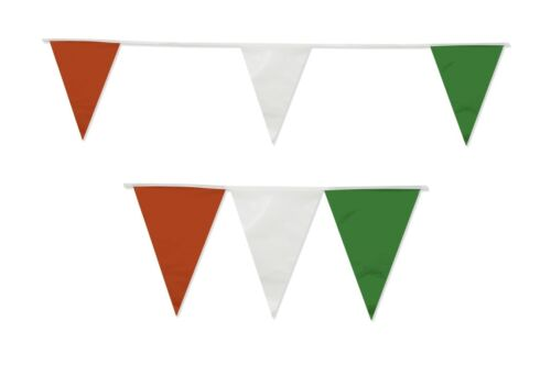 Bunting Italy Mexico Italian Mexico 20 Flag Red White Green Footbal 10m Mexican