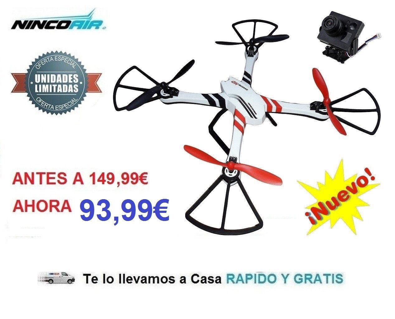 Drone Radiocontrol Shadow Con Cámara HD 3D 2,4Ghz Dron Rc RTF Ninco NH90093