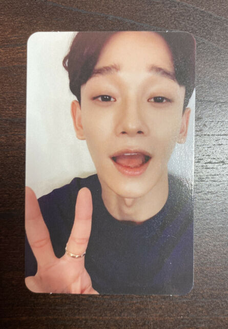 Exo Chen Official Photocard Lucky One V 3rd Album Exact Ex Act Photo Card ̲¸ For Sale Online Ebay