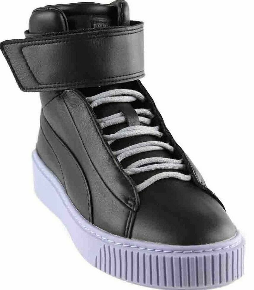 Puma Women Platform MID - Black Leather