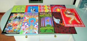 25 PSYCHEDELIC ART POSTERS WEST FEST 40TH ANNIVERSARY OF WOODSTOCK Marijuana LSD
