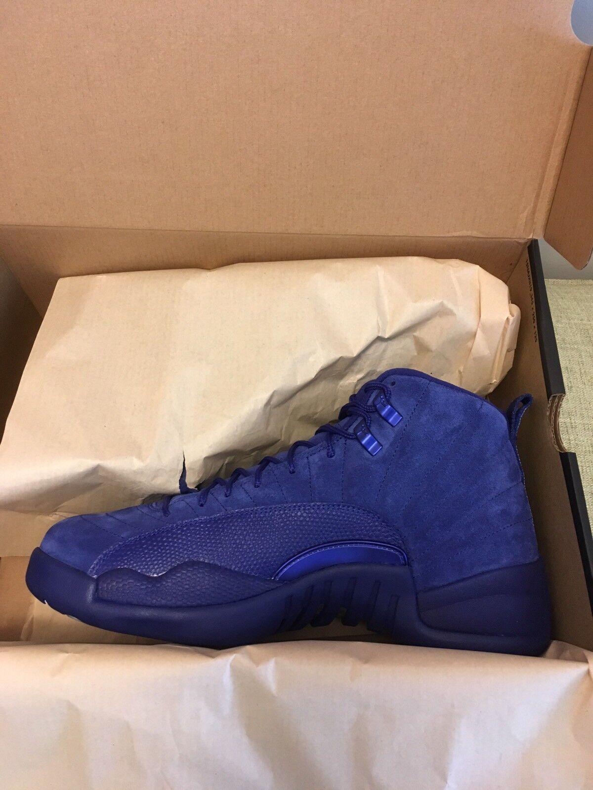 Nike Air Jordan 12 Retro Deep Royal bluee White