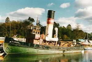 DIGITAL PLANS ONLY St Canute RC Model Boat Vintage Tug Boat Ship Plans   eBay