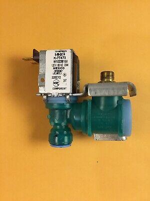 Genuine W10238100 Whirlpool Refrigerator Valve-Inlt
