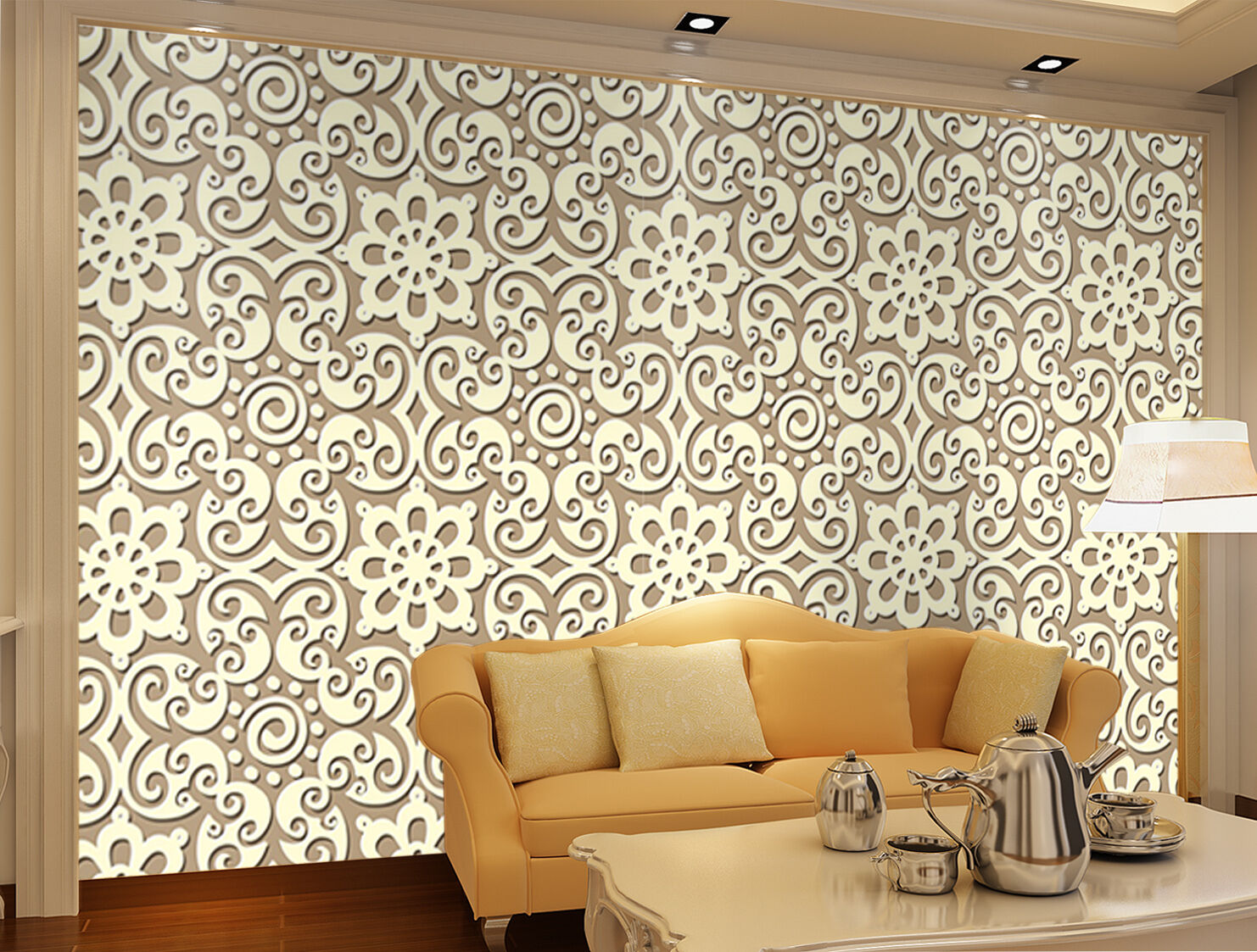 3D Flowers Patterns 1739 Paper Wall Print Wall Decal Wall Deco Indoor Murals
