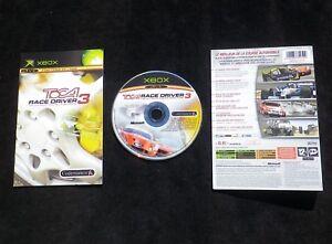 JEU-Microsoft-XBOX-TOCA-RACE-DRIVER-3-courses-auto-COMPLET-envoi-suivi