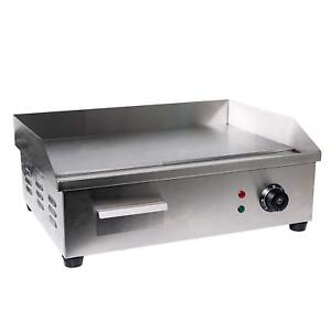 Electric-Indoor-Grill-Counter-top-Griddle-Adjustable-Chef-Thermostatic-Control