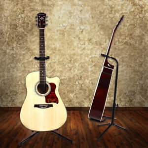 Portable-Folding-Electric-Acoustic-Bass-Guitar-Stand-A-Frame-Floor-Rack-Holder
