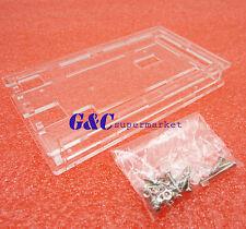 5pcs Acrylic Transparent Case Shell Enclosure Gloss Box For Arduino Mega 2560 R3